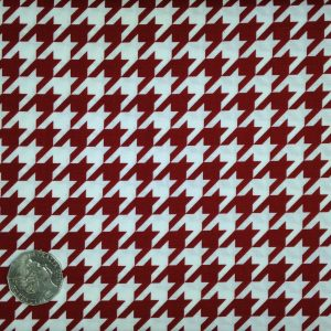 Riley Blake, Houndstooth, Crimson
