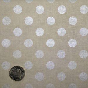 Riley Blake sparkle dots in grey