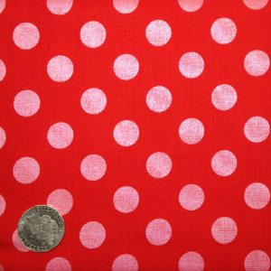 riley blake sparkle dots in red